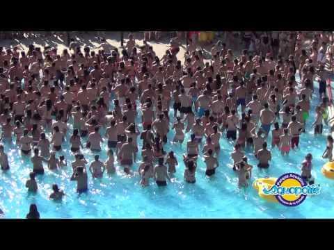 aquopolis flashmob 2014