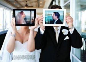una boda moderna depende de las redes