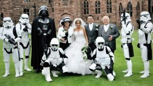 star war boda animacionloca