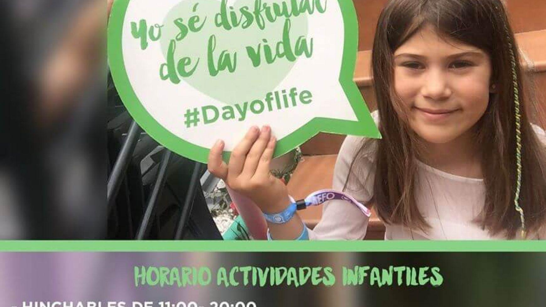 The day of life, el día mas vitalista llega el próximo 18 de junio