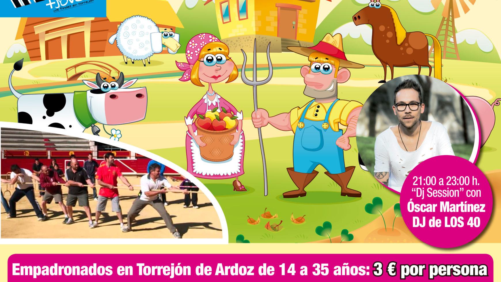 La gran gymkana Farm llegó a Torrejón de Ardoz