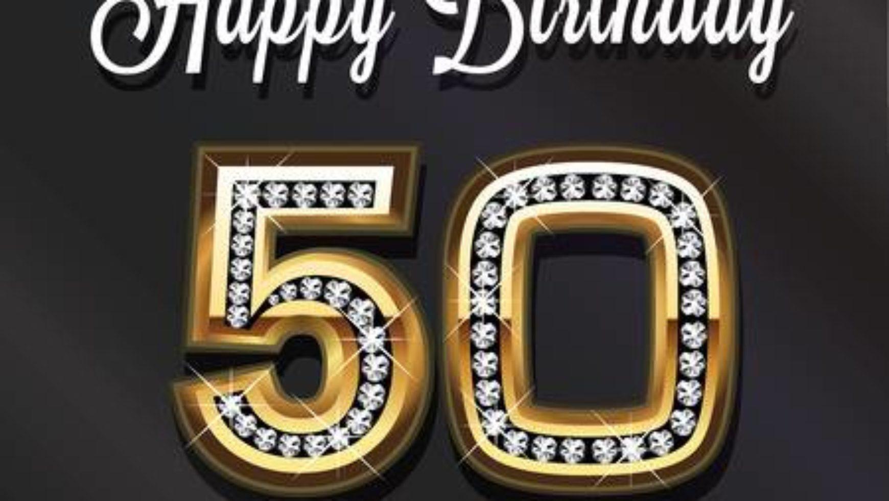 ¡Felices 50 años! 5 ideas super divertidas.