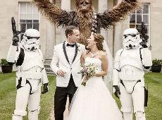 Star Wars en la boda